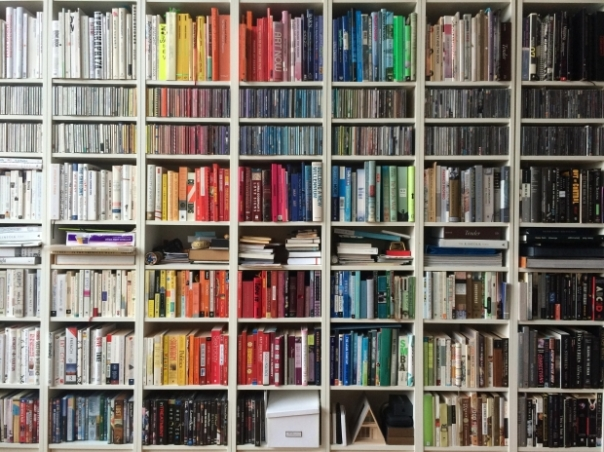 colorsortedbookshelf
