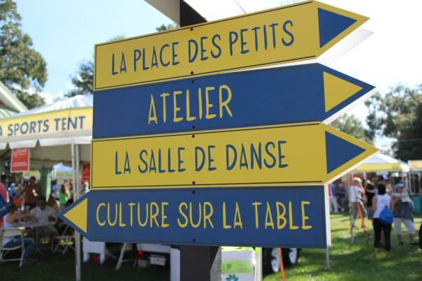 festival signs