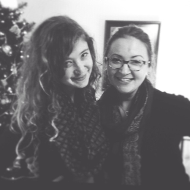 katie and i xmas