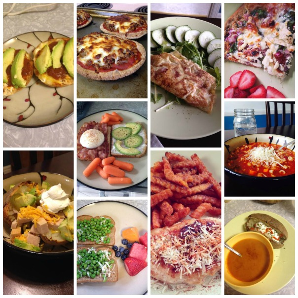 No Recipe Meals Collage