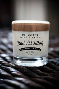 bad ass bitch candle