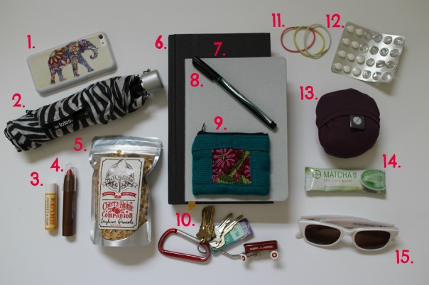whats in my bag spring 2