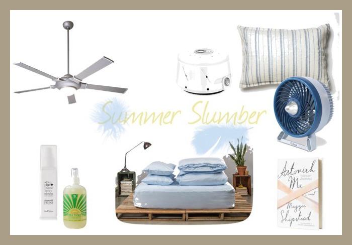 summer slumber border