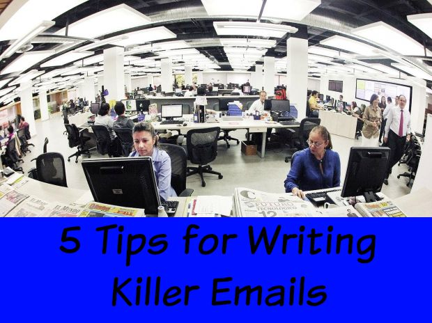 5 tips for writing killer emails