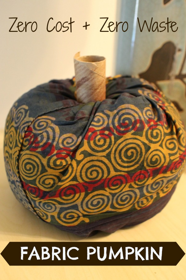 fabric pumpkin