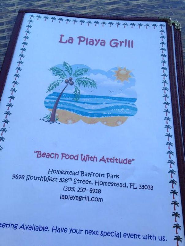 la playa grill menu
