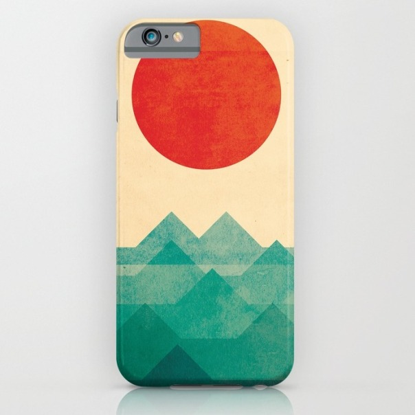 The ocean the sea the wave iPhone case