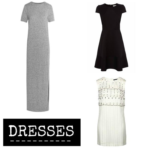 50 Piece Capsule Wardrobe Dresses