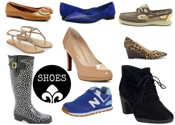 50 Piece Capsule Wardrobe Shoes