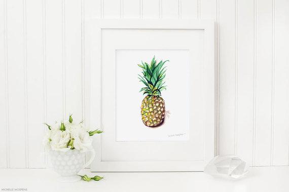 pinapple poster