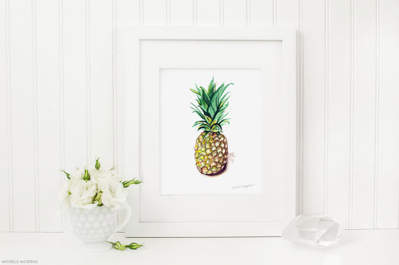 pinapple poster