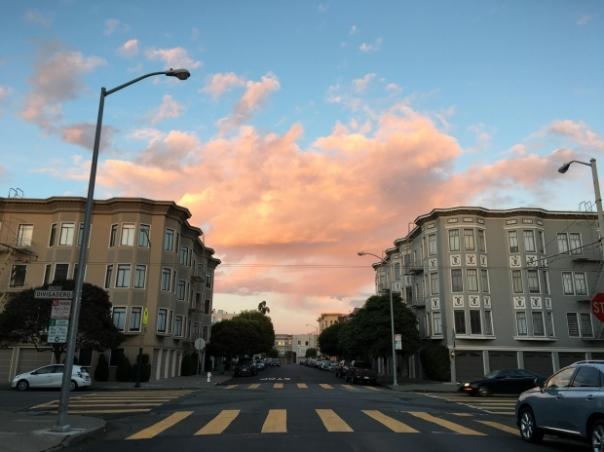 sky in between