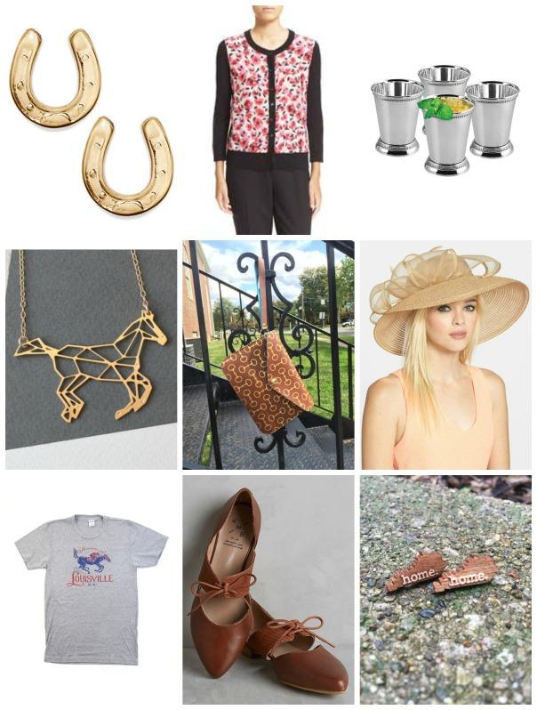 derby accessories collage