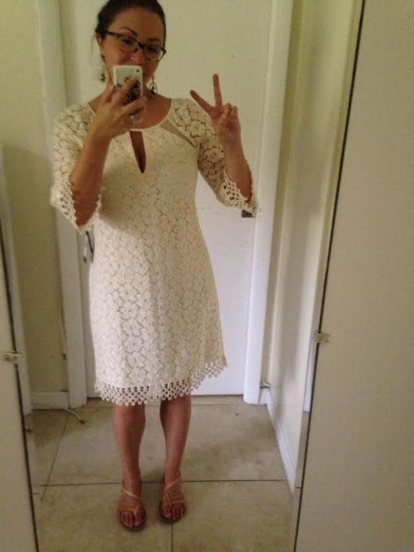 Adrianna Papell dress 3