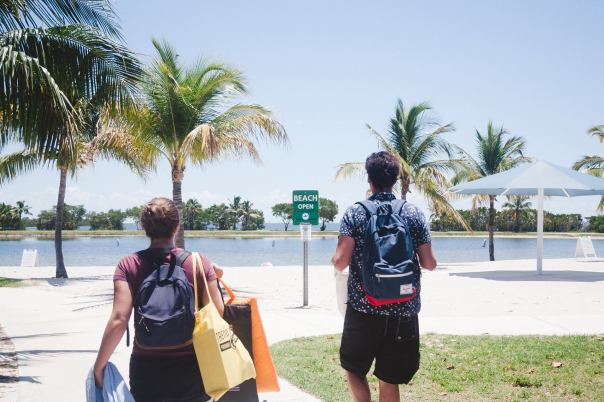 Bayfront Beach in Homestead, Florida