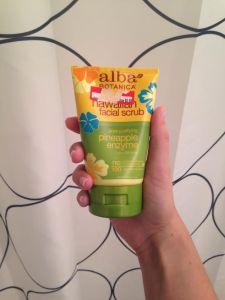 skincare alba scrub