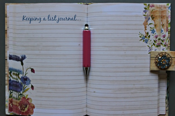 keeping a list journal