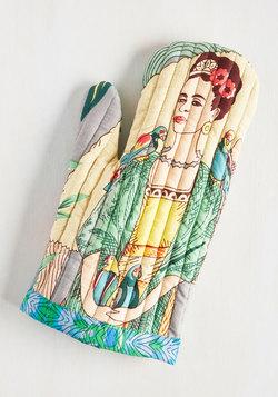 Frida Kahlo Oven Mitt