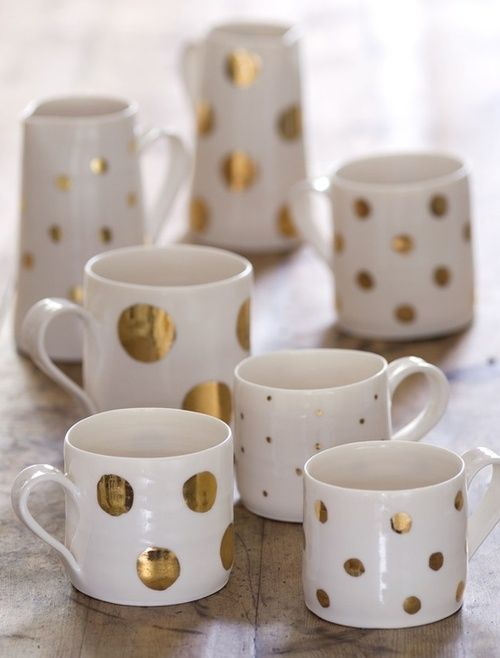 gold-polka-dot-mugs