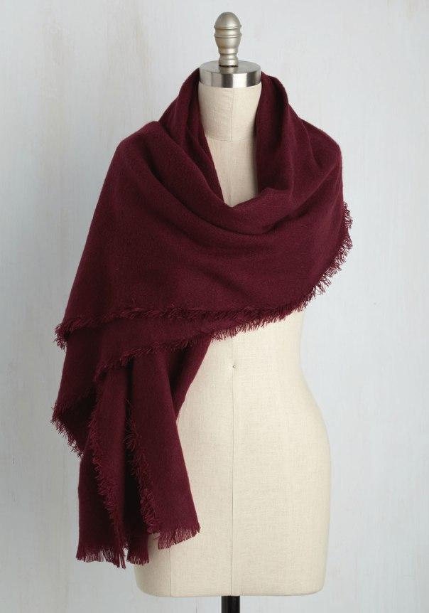 merlot-scarf