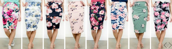 Cents of Style floral skirts
