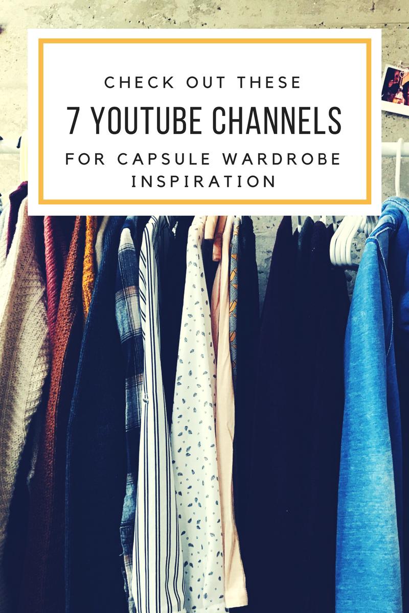 capsule wardrobe youtube channels