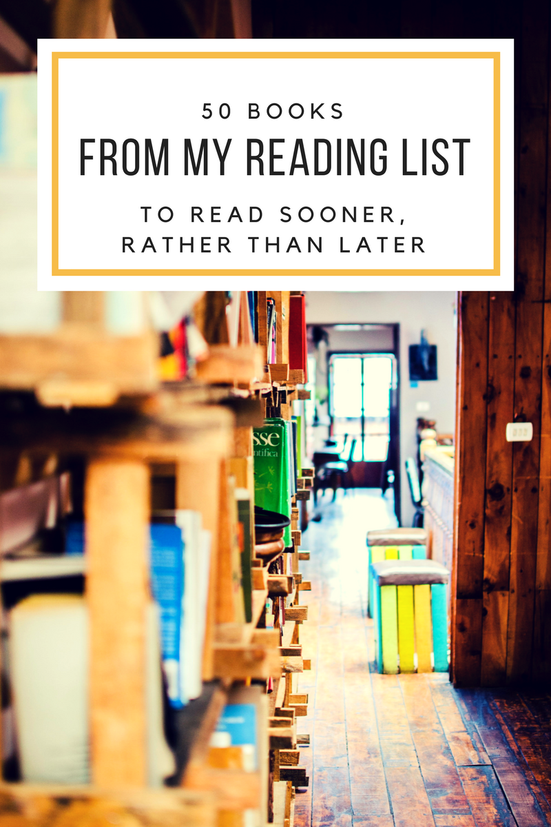 50 books from my reading list