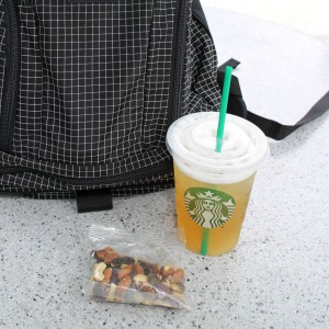 lazy day starbucks green tea