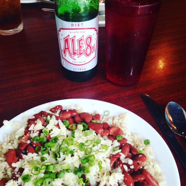 red beans and rice from Alfalfas in Lexington, KY