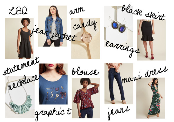 10 classic pieces from Modcloth capsule wardrobe