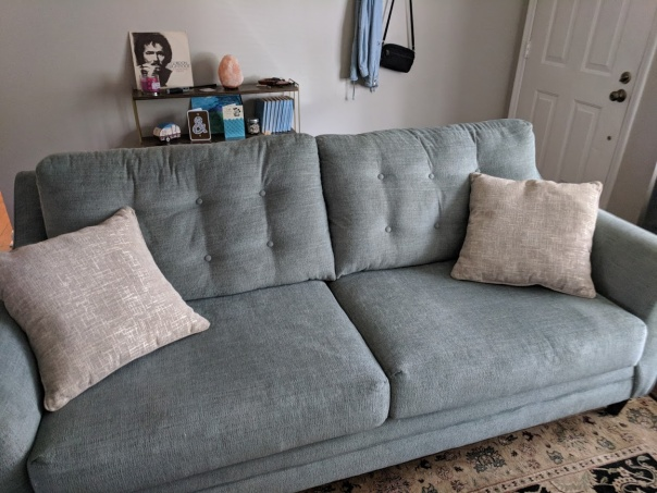cotton anniversary couch