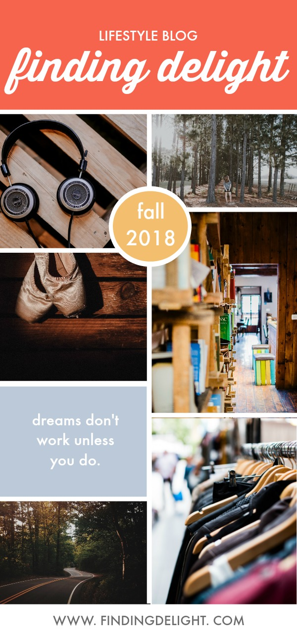 finding delight fall 2018
