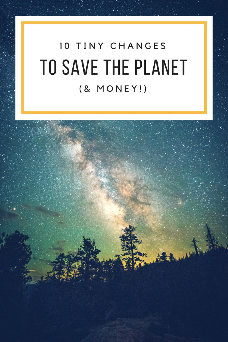 save the planet and money too