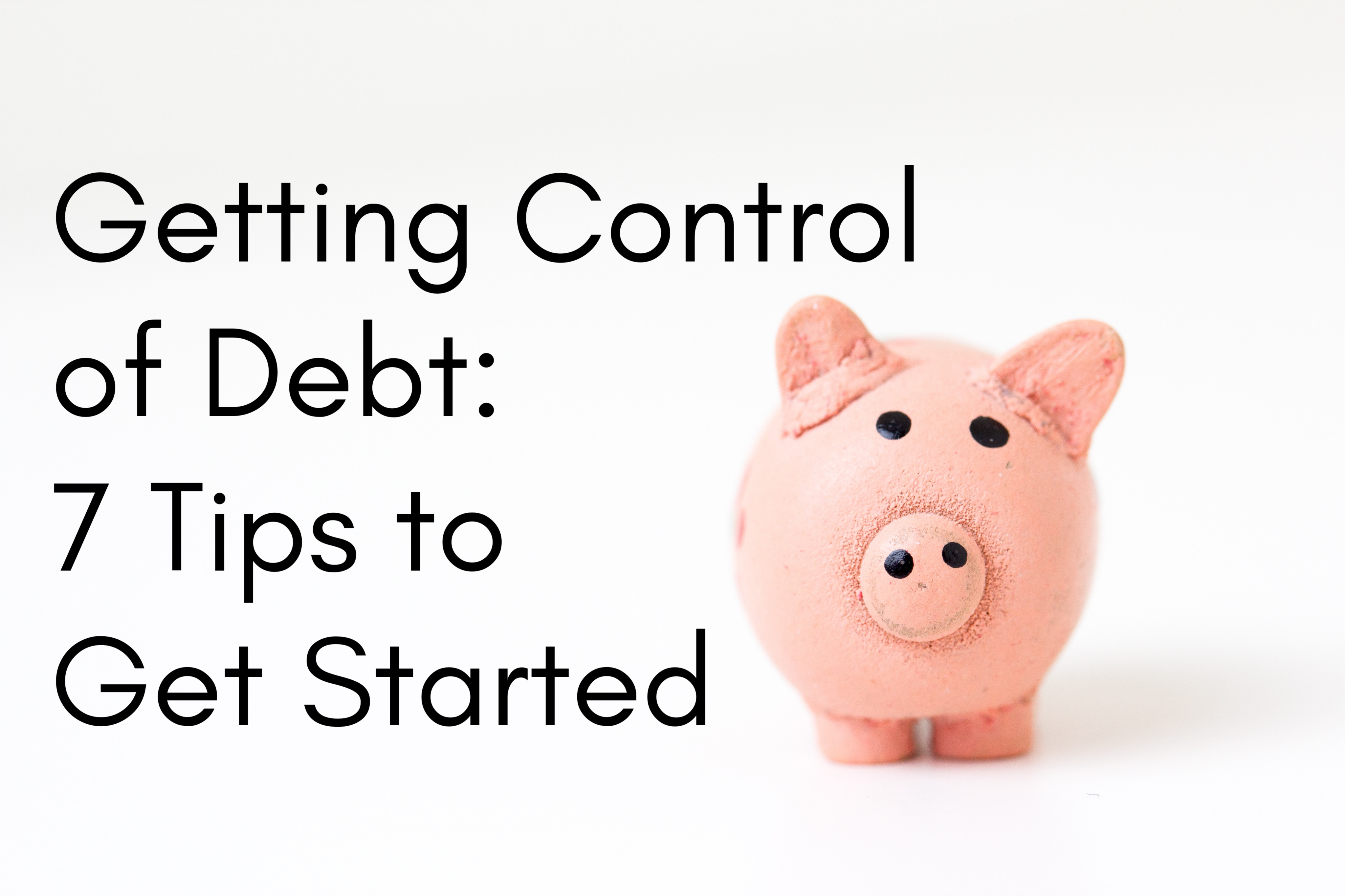 getting control of debt