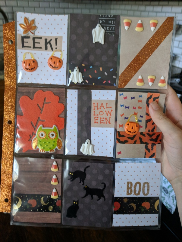 Halloween Pocket Letter